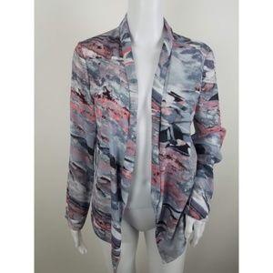 Lush Watercolor Kimono Jacket
